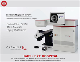 Robotic Laser Cataract Surgery